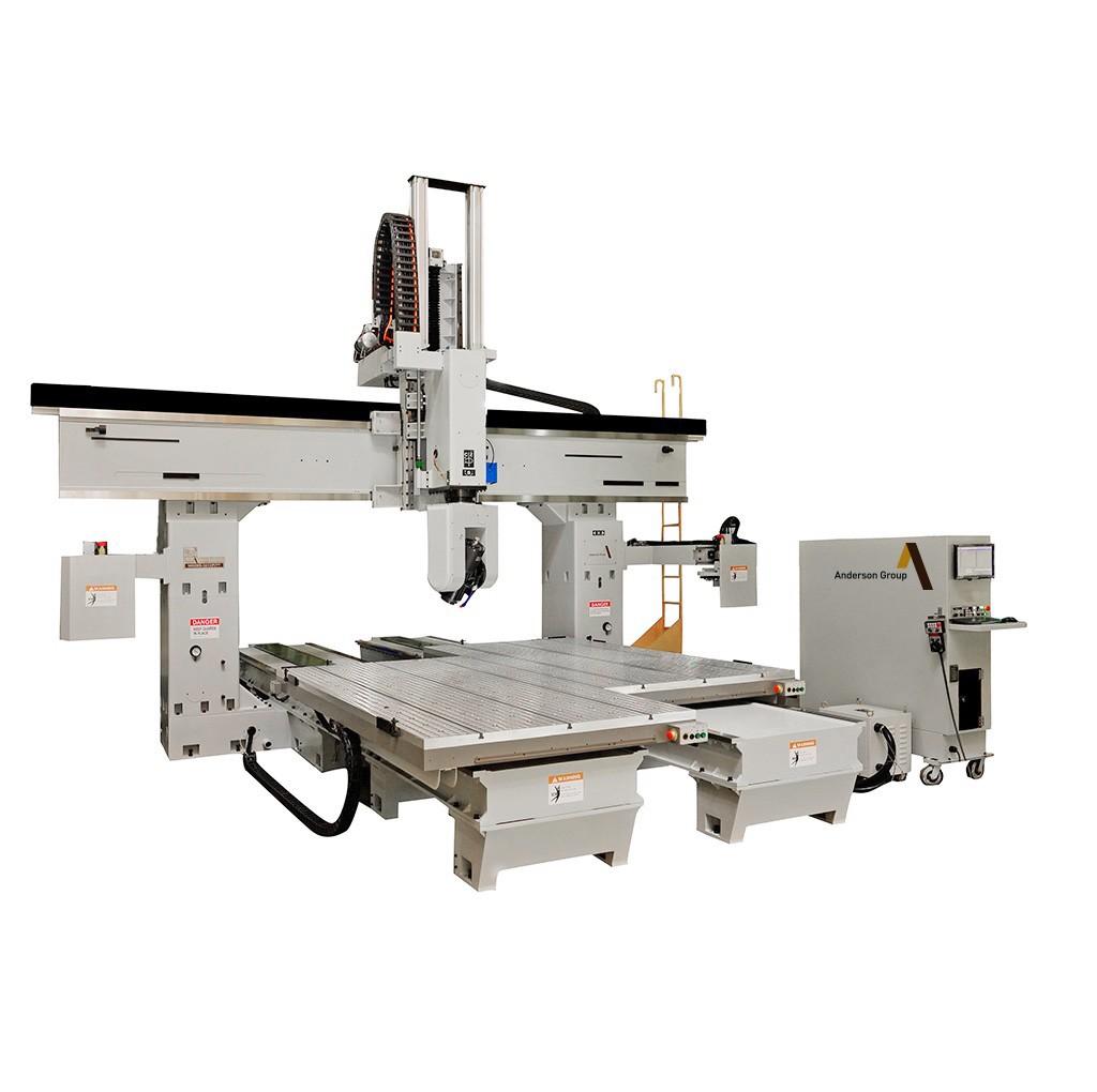 CNC 镂铣机械 ( 5轴 )